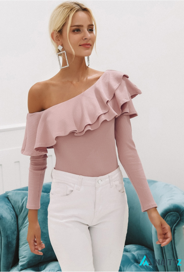 KOLI ONE SHOULDER BLOUSE