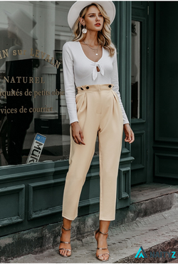 ANASKY HIGH WAIST PANTS