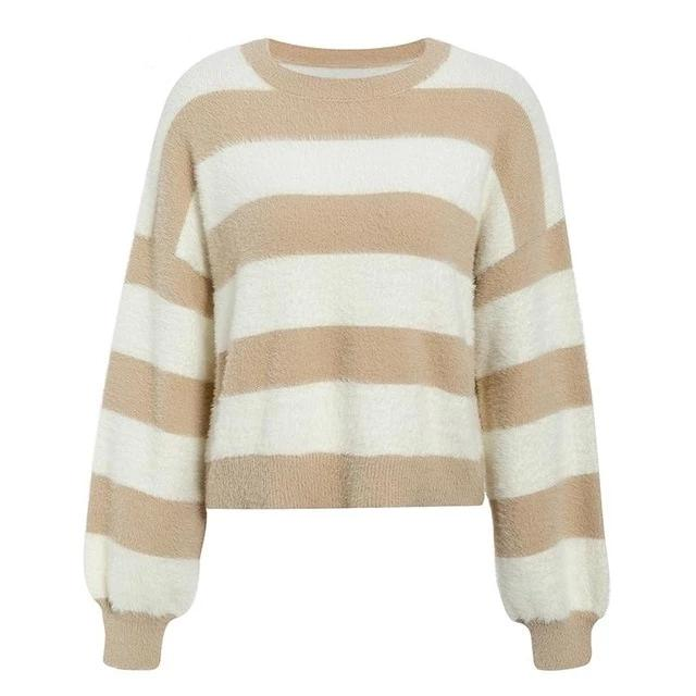 DRIZZO STRIPED PULLOVER SWEATER