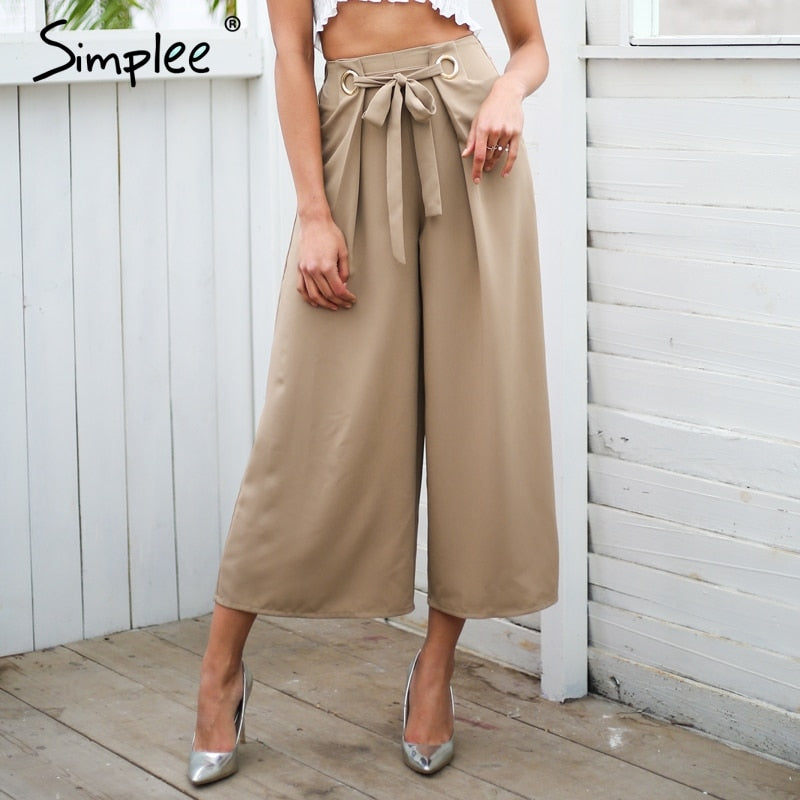 JABADOR WIDE LEG PANTS