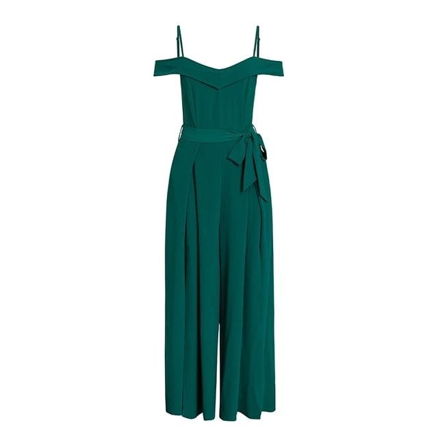 WARDA OFF SHOULDER JUMPSUIT