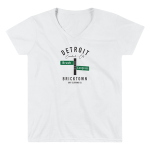 Bricktown - Brush & Congress - Women's V-Neck