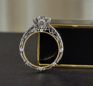 Vintage/Antique Moissanite Ring