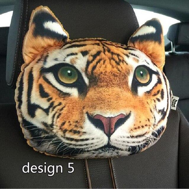 rete automobile Auto Car Seat pillow headrest Support cushion Universal Fit SUV sedans front/back seat cartoon cute Wh