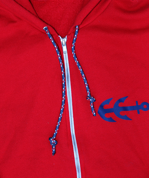 Sailing Cords Zip-Up | USA Made