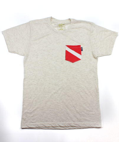 Diver Pocket Tee | USA Made