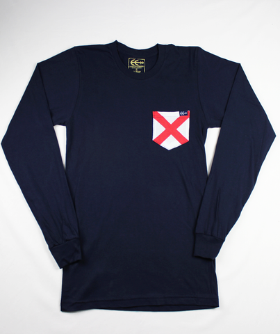 L/S Vineyard Pocket Tee  | USA Made