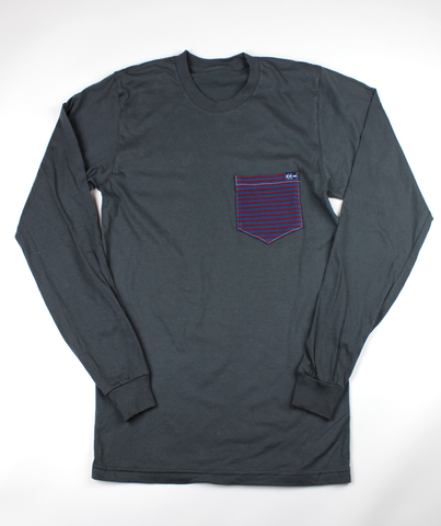 December L/S Pocket Tee  | USA Made