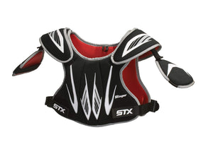 STX Lacrosse Stinger Shoulder Pads, Black