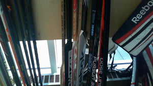 Goalie Sticks Used