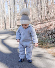 Two Toned Angora Hat - Petit Maison Kids
