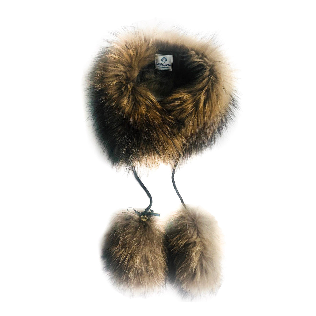 Karenina  Fur Collar Trim - Petit Maison Kids