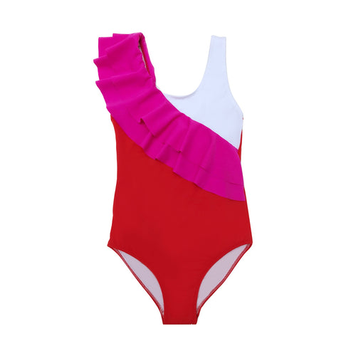 Lilium Girl Swimsuit - Petit Maison Kids