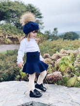 Wool Beret with Pom Pom - Petit Maison Kids