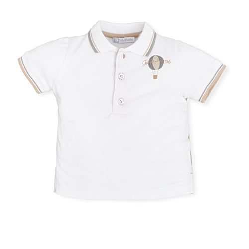 Hot Air Balloon Polo Top - Petit Maison Kids