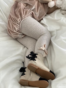 Zoe Leather Booties