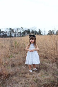 Flora Smocked Dress - Petit Maison Kids