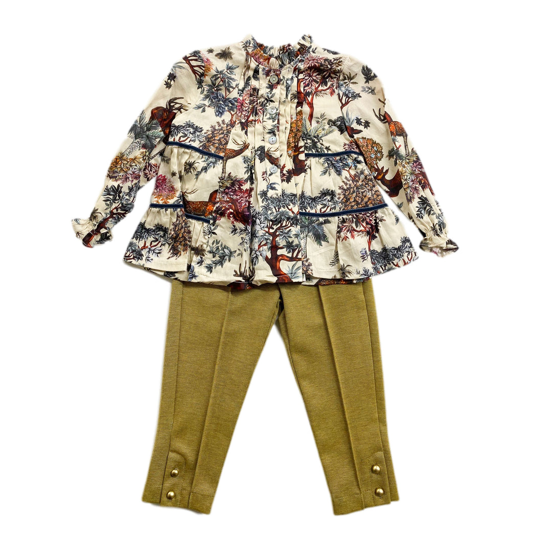 Aixa Blouse and Pants Set
