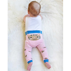 Cat Motif Leggings - Petit Maison Kids