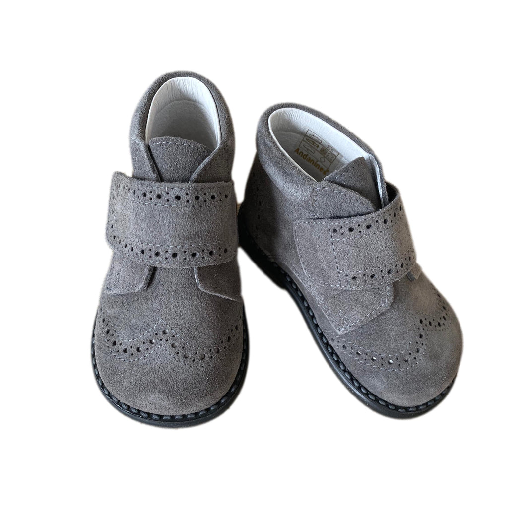 Andy Suede Booties - Petit Maison Kids