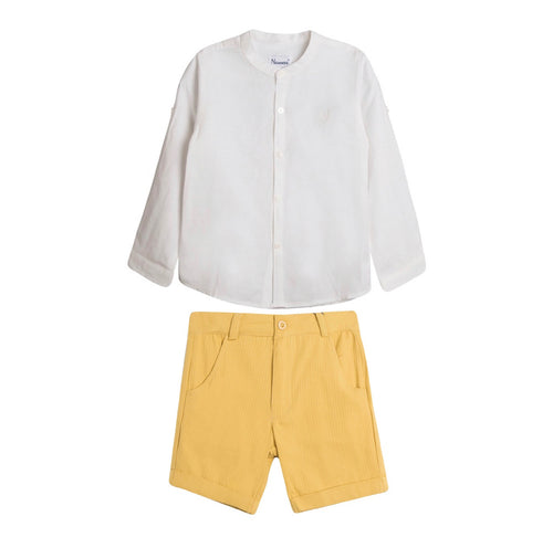 Maksim Shorts and Top Set - Petit Maison Kids