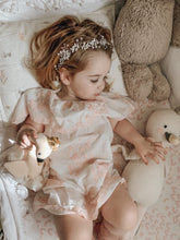 Silver Flower Hair Garland - Petit Maison Kids