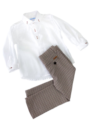 Grayson Shirt and Pants Set