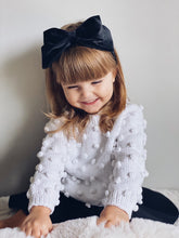 Velvet Bow Headbands - Petit Maison Kids
