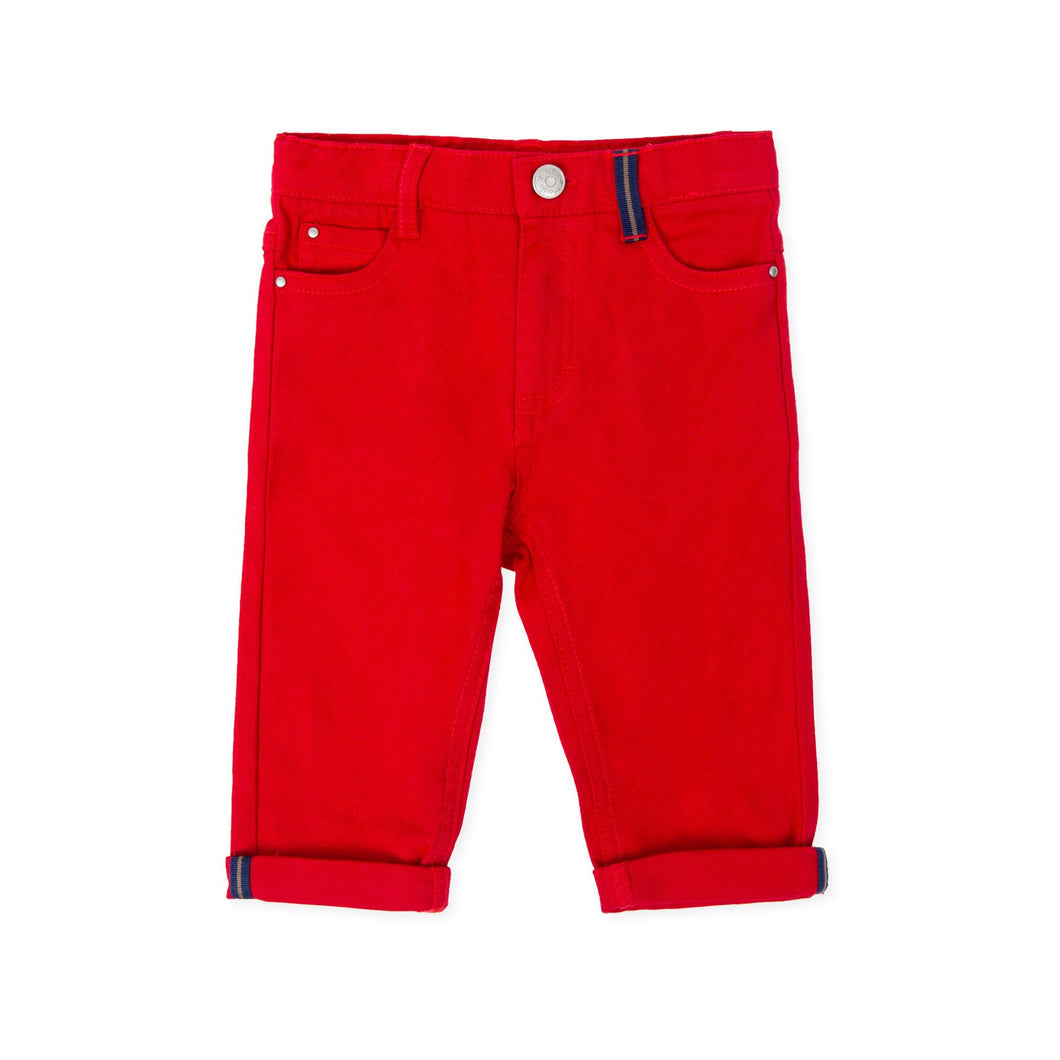 Red Jeans - Petit Maison Kids