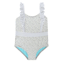 Grey Daisies Swimsuit - Petit Maison Kids