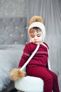 Pasha Three Pom Hat