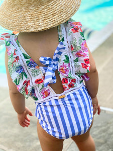 Romantic Flowers Swimsuit