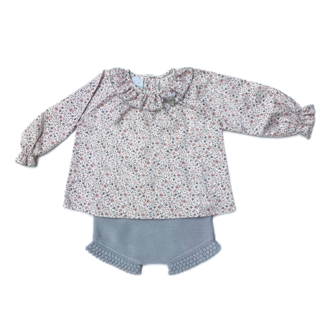 Annabelle Blouse and Shorts Set