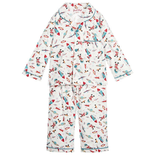 Hugo Space Pajamas - Petit Maison Kids