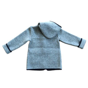 Marae Grey Wool Duffle Coat - Petit Maison Kids