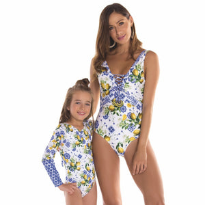 Amalfi Mom Swimsuit - Petit Maison Kids