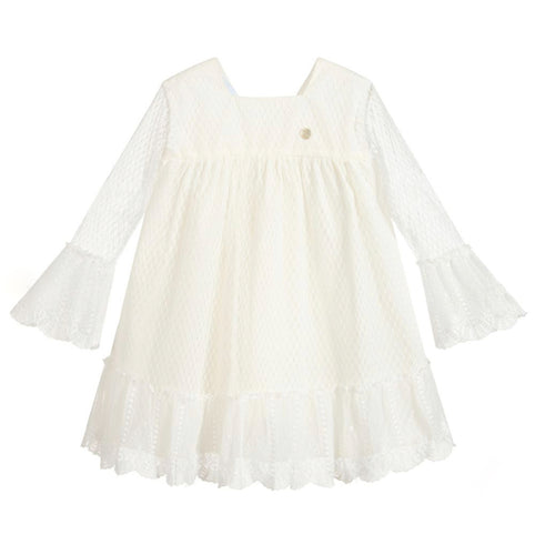 Asa Ivory Lace Dress - Petit Maison Kids