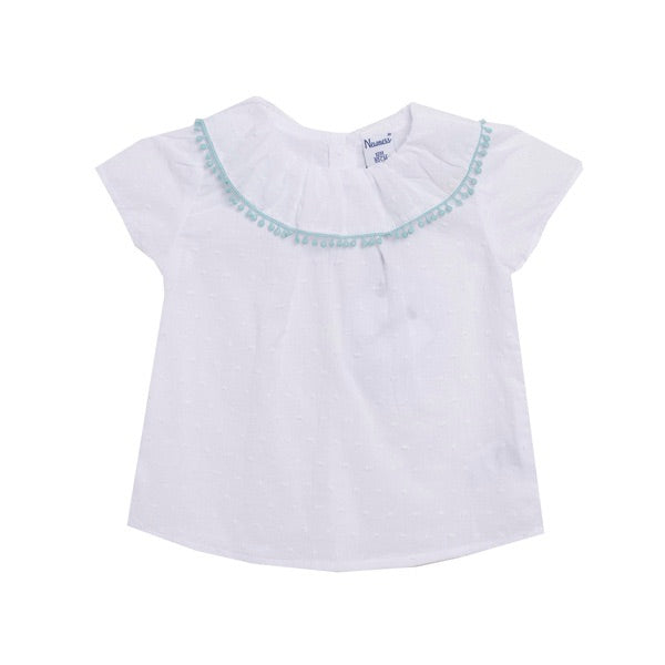 Kate Short Sleeve Blouse - Petit Maison Kids