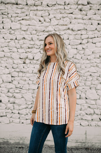 Gianna Stripe Shirt
