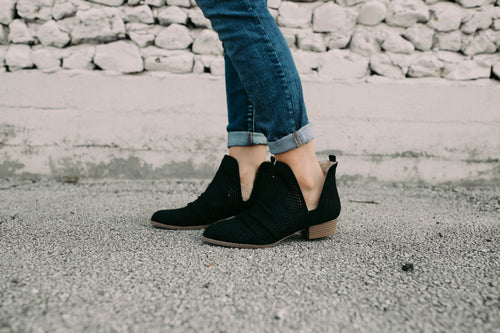 Black Hester Booties