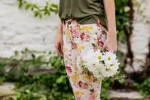Load image into Gallery viewer, Avonlea Floral Low-Rise Pants