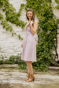 Amelia Lavender Dress
