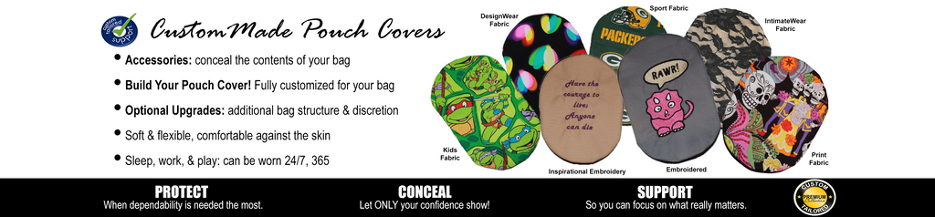 Custom Made Ostomy Pouch Covers