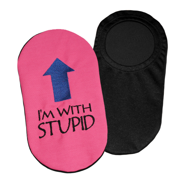 Embroidered Ostomy Pouch Cover | Ostomy Bag Holder