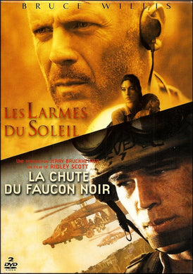 Les Larmes du soleil [Tears of the Sun] + La Chute du faucon noir [Black Hawk Down]
