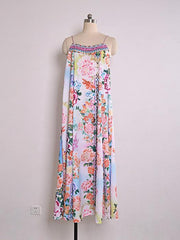 Gorgeous Boho Print Maxi Dress - MaestosoRosso_Fashion_Store