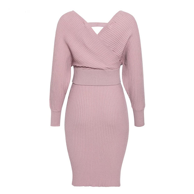 Pastel Pink Two Piece Set - MaestosoRosso_Fashion_Store