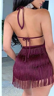 Tassel Mini Dress