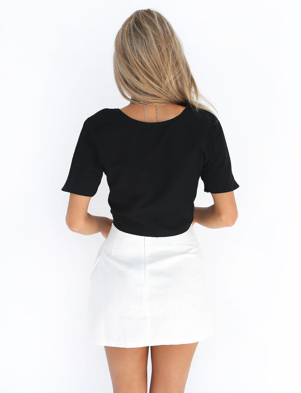 Casual Mini Skirts - MaestosoRosso_Fashion_Store