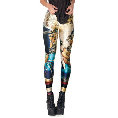 3D Printed Leggings (Various Designs) - MaestosoRosso_Fashion_Store